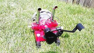MAYTAG~HOT ROD Gas Engine 72 TWIN Hit & Miss Ice Cream Machine RESTORED w/SPARK!