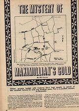The Mystery Of Maximilian's Gold+Black,Carson,Juarez,Maximilian,Napoleon III