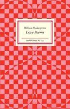 Love Poems von William Shakespeare (2017, Gebundene Ausgabe)