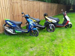 MOPED SCOOTER 50 TWIST AND GO 50cc   PEUGEOT TGB ARAGON ALL WITH NEW OR LONG MOT
