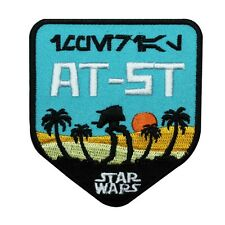 "Imperial Scout Walker ""AT-ST Star Wars"" Iron-On Patch DIY Fan Accessory Applique"
