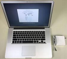 "Apple MacBook Pro 15"" Anti-glare A1286 2.4GHz Core i7 16GB RAM 1TB SSHD 10.12"