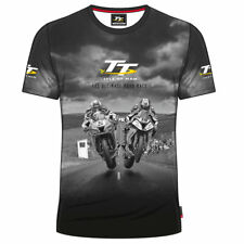 Official Isle of Man TT Races All Over Print T'Shirt  - 19AOP3