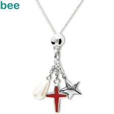 3 In1 Pearl Cross Silver Star Sterling Silver Necklace 35198