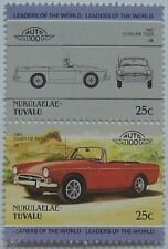 1965 SUNBEAM TIGER Car Stamps (Leaders of the World / Auto 100)