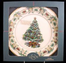 Lenox Christmas Trees Around The World Collectible Plate America 1998 A+ in box
