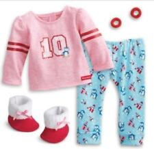 NEW American Girl Holiday Penguin PJ's Pajamas for dolls NIB Truly Me