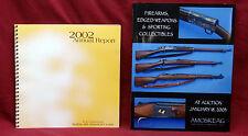 Buffalo Bull Historical Center 2002 Annual Report & Gun Auction Catalog