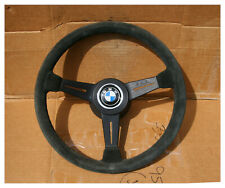Vintage Nardi Suede Competition Steering Wheel BMW 1600 2002 Tii E9 3.0 CS CSL