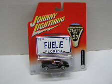 """JOHNNY LIGHTNING """"CLASS OF 57"""" 1957 CORVETTE HARDTOP WITH RUBBER TIRES and MAG"""