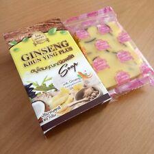 Bar Soap Ginseng Plus Vitamin E Aloe Acne  Reduce Black Spots Soft Skin Moisture
