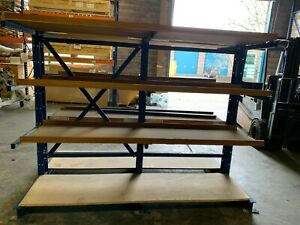Double Sided Cantilever Racking Used