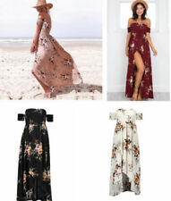Boat Neck Dresses for Women with Appliqué