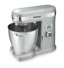 Cuisinart 7 Qt Stand Food Mixer, Brushed Chrome, Stainless Bowl, W/ Attachments