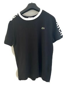 LACOSTE Black T- Shirt