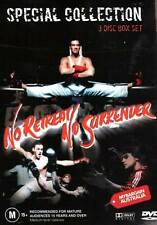 NO RETREAT NO SURRENDER=Special Collection = NEW =3 DVD Box Set =Van Damme