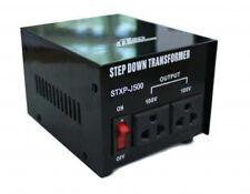 500W 240V to 100V Step Down Transformer Japanese to Australian Voltage Converter