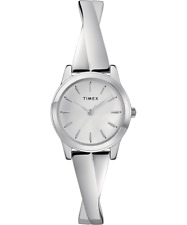 Timex TW2R98700, Women's Silvertone Expansion Bangle Watch, 25MM