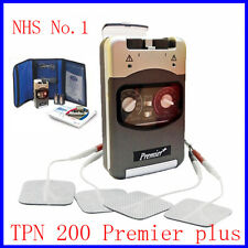 Dual Channel TENS Machine TPN 200 Premier Plus, Genuine TENS, NHS No.1