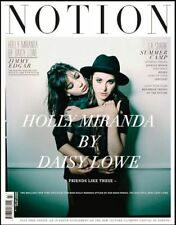 NOTION Magazine #47 2010 HOLLY MIRANDA Daisy Lowe JIMMY EDGAR La Shark @EXCLT@