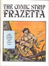 The Comic Strip Frazetta - 1980 fanzine - B&W reprints - Dan Brand & Tipi, more.