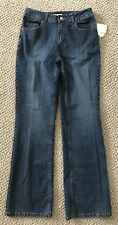 Womens Coldwater Creek Natural Waist Bootcut Jeans Size 6 NWT Retail $69.00