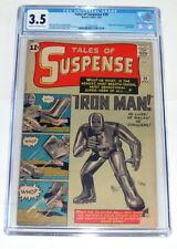 Tales of Suspense #39, Mar., 1963, 1st app. & Origin of IRON MAN! CGC 3.5