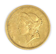 1852 LIBERTY HEAD $20 DOUBLE EAGLE TWENTY DOLLAR 90% GOLD US COLLECTIBLE COIN