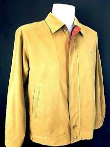 DAKS LONDON Mens Tan LUXURY Harrington JACKET COAT BLOUSON - M - £160