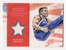 2012 Topps USA Olympic Team Original Relic Jonathan Horton Gymnastics Medalist