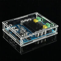 DIY TPA3116D2 120W*2 Digital Bluetooth 4.0 Audio Receiver Amplifier Acrylic case