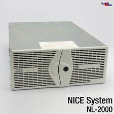NICE SYSTEMS LTD DIGITAL VOICE LOGGER NL-2000 501M0121-01 15x ISA BOARD NETZTEIL