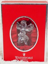 Waterford Crystal Annual Angel 2004 Christmas Tree Ornament - In orig. Red Box