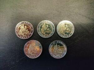 2 euro Allemagne 2012 commémorative Bayern les 5 ateliers neuves