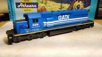 Athearn HO Scale GATX SD40-2 Powered Diesel Locomotive #7375