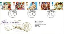 1994 Sg 1843/47 Christmas First Day Cover