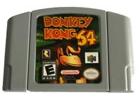 Donkey Kong Nintendo 64 N64 Video Game Cartridge Super Fun Retro Kids