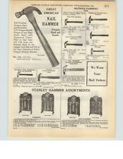 1927 PAPER AD Stanley Tools Store Display Counter Stand Rack Great American