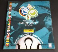 panini WORLD CUP 2006 WC 2006 album vide