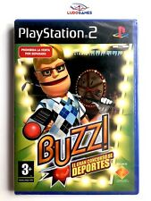Buzz Deportes PS2 PAL/SPA Nuevo New Precintado Retro Playstation Videojuego