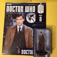 Doctor Who . Tenth Doctor Figurine With Issue 8 Magazine .