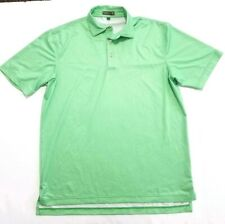 Peter Millar Summer Comfort Polo Solid Light Green Size M