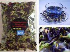 100% Thai Blue Butterfly Pea Tea Making Flower 100g Food Coloring  Free Int Post