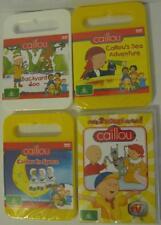 ABC Kids Bulk Lot CAILLOU Childrens DVDs R4 Brand New