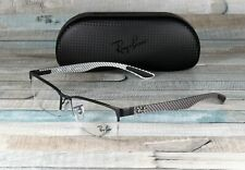 RAY BAN RX8412 2503 Matte Black Demo Lens 54 mm Men's Eyeglasses