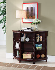 Kings Brand Furniture Cherry Finish Wood Entryway Buffet Console Sofa Table ~NEW