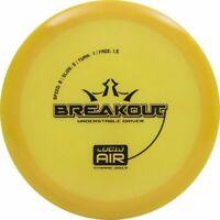 Dynamic Disc Golf Breakout Fairway Driver Lucid Air 150-159 - Yellow