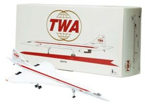 INFLIGHT 1/200 CONCORDE TWA REG: N001TW WITH STAND LIMITED EDITION 144 PIECES