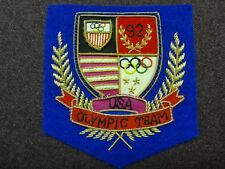 Vtg 90s USA Basketball 1992 Olympic Team Patch worn on Gold Jacket