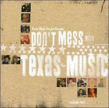 Don't Mess with Texas Music, Vol. 2 by Various Artists cd SEALED 19 tracks